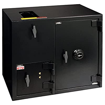 Amsec DSF2731KC B Rate Rotary and Front Loading Depository Safe