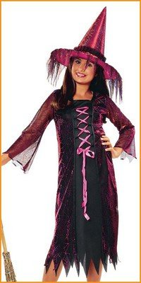 Kids Costumes Electric Witch Halloween Costume