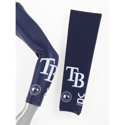 Image of VOmax Tampa Bay Rays_AW MLB Tampa Bay Rays Unisex Cycling Arm Warmers Size: Small (B0053ZLTG6)