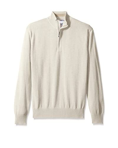Alex Cannon Men's Long Sleeve 1/4 Zip Sweater