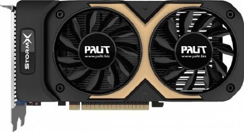 Palit GeForce GTX 750 Ti 2 GB StormX Dual Video Card