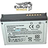 HQRP Internal Li-Ion Battery for DELL T6845 / T6476 / U6192 / HC03U Replacement + Back Cover ~ Eurus-Wings