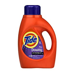 Tide with a Touch of Downy Unstopables Lush Scent, 50 fl Oz Bottle (Pack of 6)