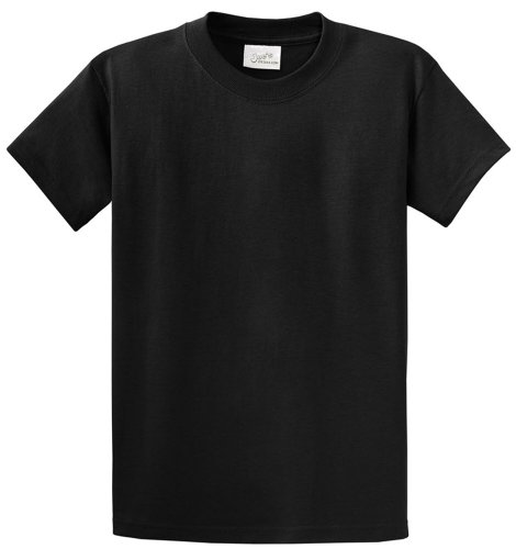 Joe's USA - Tall Heavyweight Cotton T-Shirts in Size 4X-Large Tall -4XLT (Big And Tall Shirts compare prices)