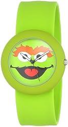 Sesame Street SW613OS Oscar The Grouch Slap Watch Case