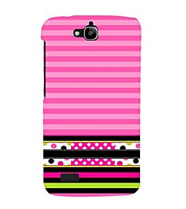 Pink Pyar Ka Love 3D Hard Polycarbonate Designer Back Case Cover for Huawei Honor Holly :: Honor Holly
