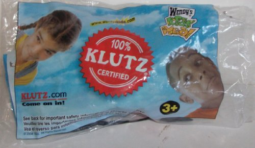 Wendy's Kids Meal Klutz Ball EZ to Throw Soft Ball