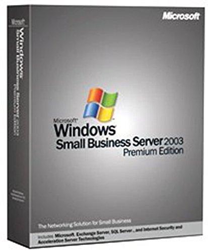 Microsoft Windows Small Business Server Premium 2003 English (5 Client) [Old Version] (Windows Server 2003 compare prices)