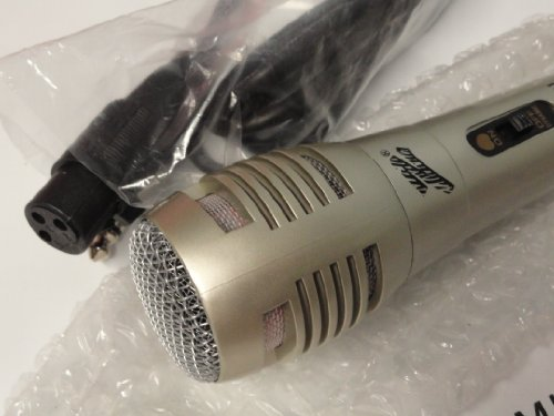 Dynamic Karaoke Vocal Uni-Directional Microphone With 6 Feet Of Cable