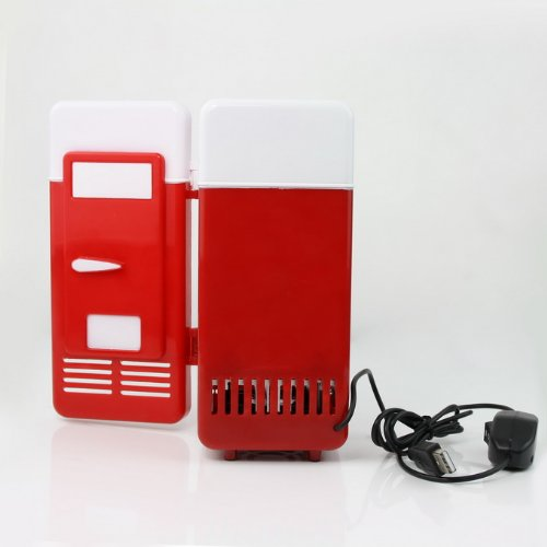 Usb Fridge Pc Beverage Cooler & Warmer Refrigerator