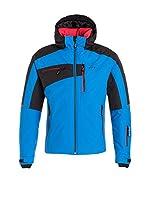 Hyra Chaqueta de Esquí Kitzbuehel Man (Azul / Negro)