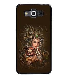 printtech Robot Fairy Girl Design Back Case Cover for Samsung Galaxy Grand 3 G720::Samsung Galaxy Grand Max G720