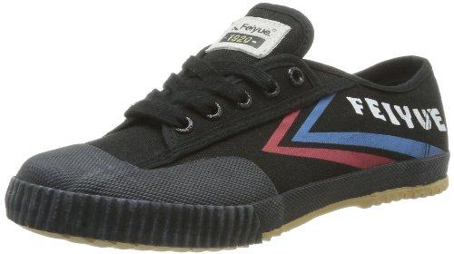 FeiyueFe Lo Origine 1920 - Sneaker unisex adulto , Nero (Noir (595)), 37
