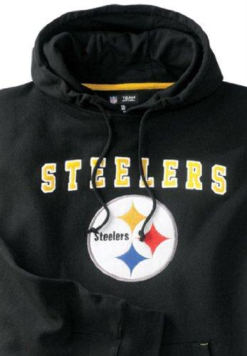 0679dad54440b4 Get the Kingsize Men s Big   Tall Pittsburgh Steelers Pieced Hoodie ...