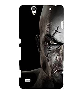 EPICCASE God war Mobile Back Case Cover For Sony Xperia C4 (Designer Case)