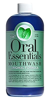 Oral Essentials Mouthwash for Fresher Breath