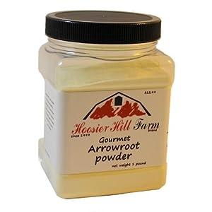 Hoosier Hill Farm Premium Arrowroot Powder, 1 Lb.