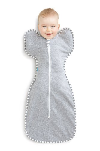 Love To Dream Swaddle Up Original- Gray- Small 6.6 - 13.2 lbs