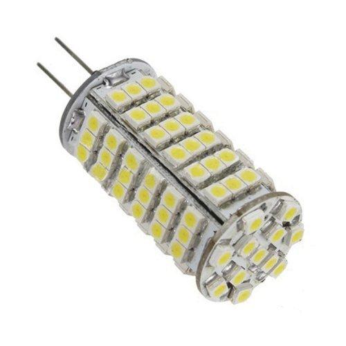Loriza® G4 Base 12 Volt Led Light Bulb Replacment 50W Halogen 102Pcs Leds 3528Smd Daylight White 4Pcs/Pack