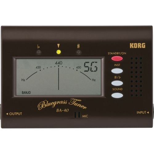 Korg BA40 Tuner for Bluegrass Instruments