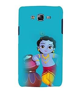 printtech Lord God Krishna Back Case Cover for Samsung Galaxy J1::Samsung Galaxy J1 J100F