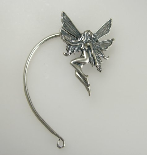 A Delightful Sterling Silver Fairy Ear Wrap. Why Be Ordinary? This Fits Either Ear, Let Us Know if you Have a Preference.