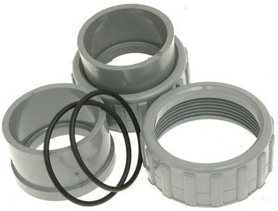 Raypak Heater 2 PVC Connector  Nut 2pk 006723FB001D1CYFO : image