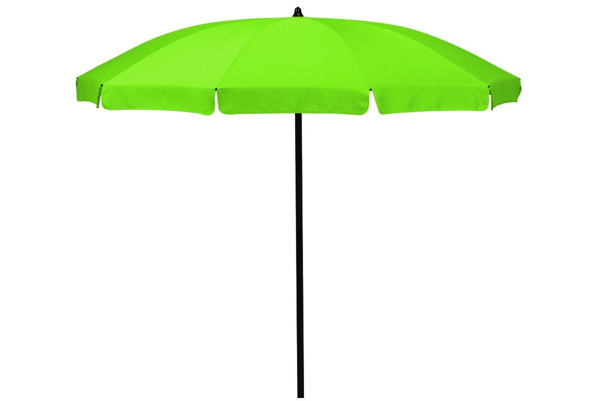 """Absolut wetterfester Gartenschirm""""Ibiza 220″ von Madison mit UV-Schutz 40 Plus, Farbe apfelgrün, höhenverstellbar kaufen"""