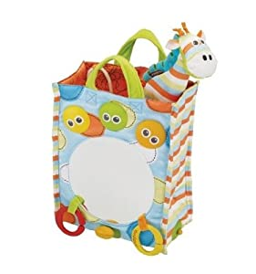 Yookidoo Tote Along Musical Mirror Toy