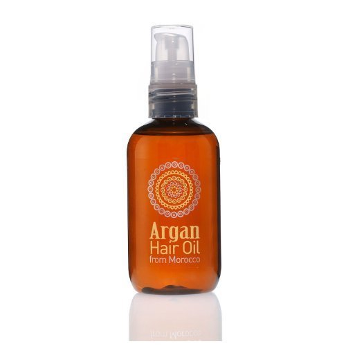 Moroccan Argan Hair Oil Conditioning Treatment With Natural Pure Ingredients From Morocco 100ml by Blush Look