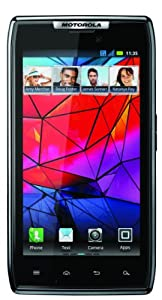 Motorola XT-910 DROID RAZR Unlocked GSM Smartphone with 8 MP Camera, Android OS, Wi-Fi, and GPS--No Warranty (Black)