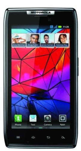 Motorola XT-910 DROID RAZR Unlocked GSM Smartphone Ultra Slim with 8MP Camera (Black)
