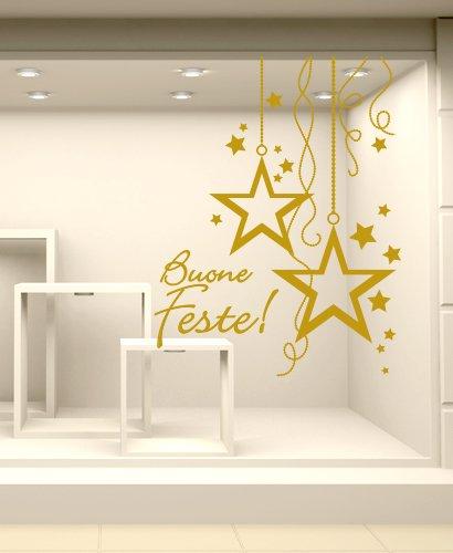 Adesivi per vetrine tutte le offerte cascare a fagiolo for Decorazioni casa online