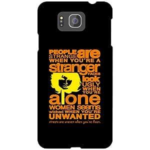 Samsung Galaxy Alpha G 850 Stranger Matte Finish Phone Cover