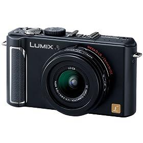 Panasonic デジタルカメラ LUMIX (ルミックス) LX3 ブラック DMC-LX3-K 松下電器産業