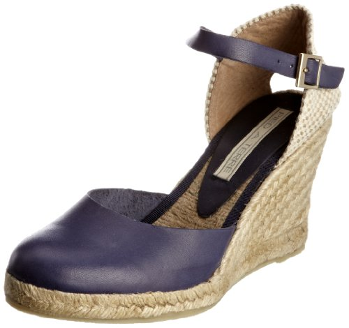 Pied A Terre Women's Iris Navy Wedges 0435505900050040 6 UK