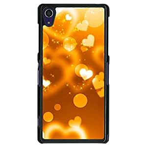 Jugaaduu Heart Bubbles Back Cover Case For Sony Xperia Z1