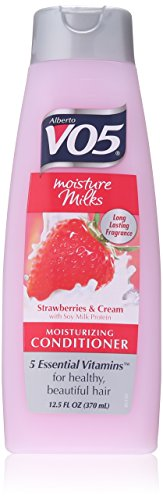 Alberto VO5 Moisture Milks Moisturizing Conditioner Strawberries & Cream 12.5 fl oz
