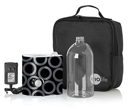 Violife VMH501KIT Personal Humidifier with Pouch and Water Bottle, Charcoal - 1