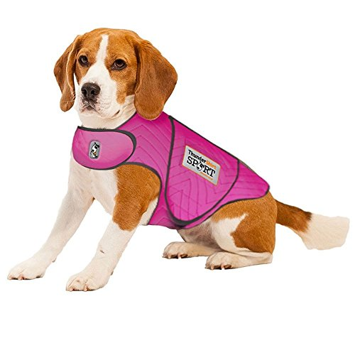 ThunderShirt SPORT Dog Anxiety Jacket, Fuchsia, Medium