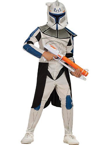 Star Wars Clone Wars Clone Trooper Child's Captain Rex Costume