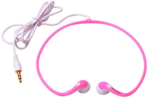Today's Deal Hangout Sport Curve Stereo Headphones Wired Headset (Pink)