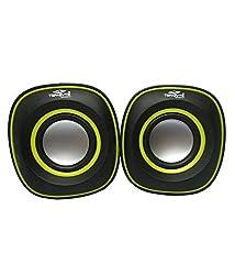 Terabyte TB-015 (USB powered) 2.0 mini Desktop Speakers - Black & Yellow