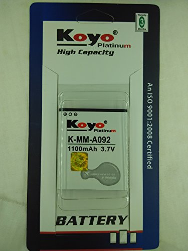 Koyo-1100mAh-Battery-(For-Micromax-A092)