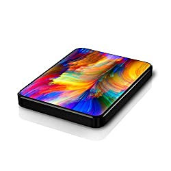 Colorfull Design Hard Disk Skin By Shopkeeda