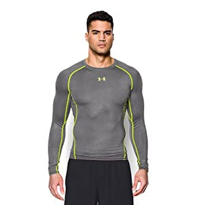 Under Armour Men's HG Long Sleeve Printed Comp Shirt