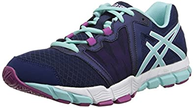 Asics S383N Women's GEL-CRAZE TR Shoes, Mdevl Blu/Blu Tint