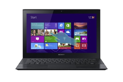 Sony VAIO SVP11214CXB 11.6-Inch Touchscreen Ultrabook (1.8 GHz Intel Core i7-4500U Processor, 8GB DDR3, 128GB SSD, Windows 8) Carbon Black