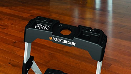 Black Amp Decker Bxl2260 03s Three Step Aluminum Step Stool