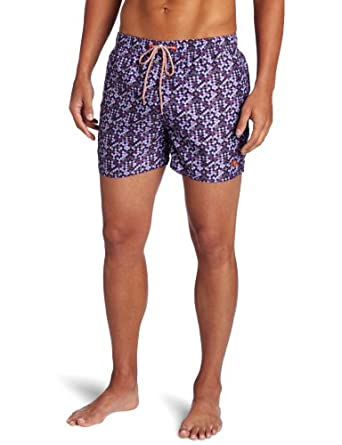 Ted Baker Men's Lymme Fashion Boardshort, Purple, 2